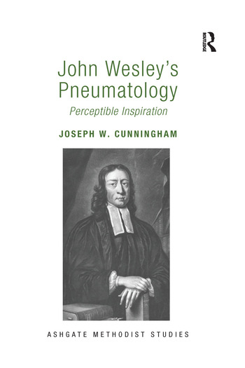 John Wesley's Pneumatology Perceptible Inspiration book cover