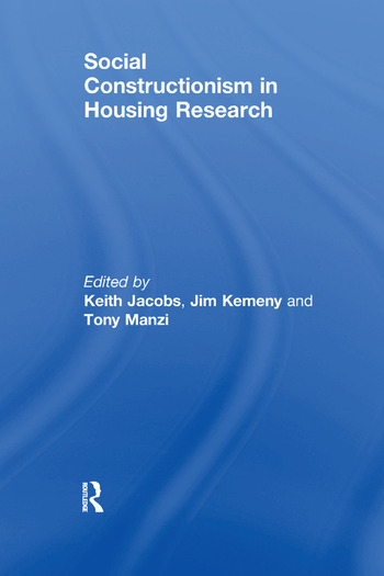 Social Constructionism in Housing Research book cover