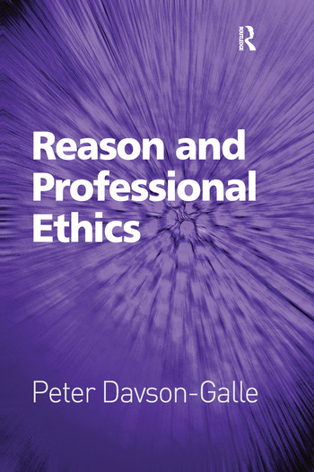 Reason and Professional Ethics book cover