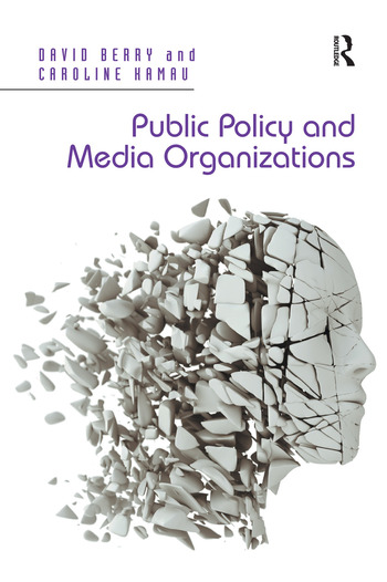 Public Policy and Media Organizations book cover