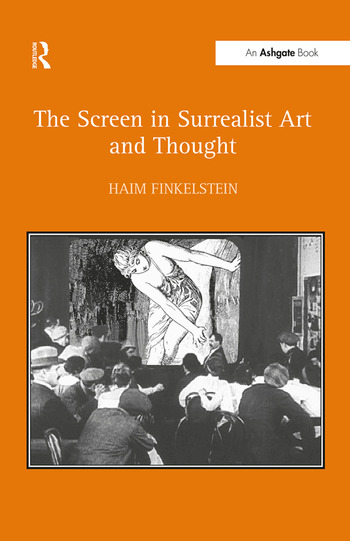 The Screen in Surrealist Art and Thought book cover