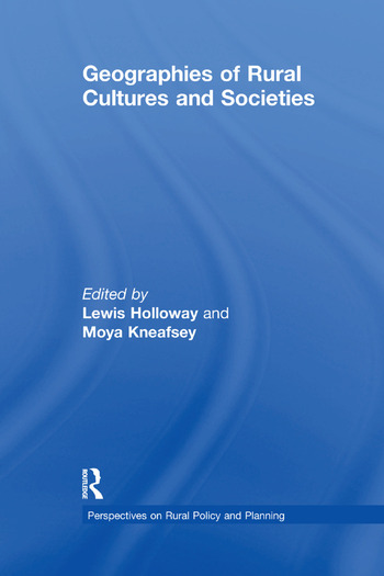 Geographies of Rural Cultures and Societies book cover