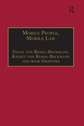 Mobile People, Mobile Law Expanding Legal Relations in a Contracting World book cover