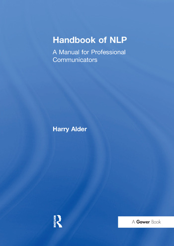Handbook of NLP A Manual for Professional Communicators book cover