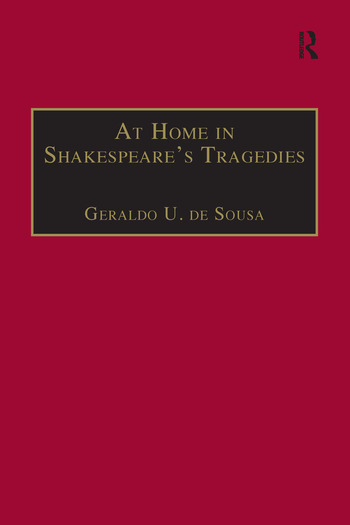 At Home in Shakespeare's Tragedies book cover