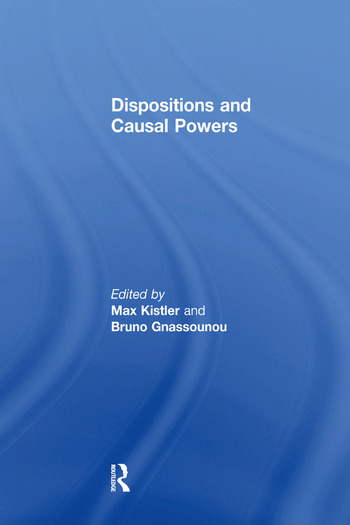 Dispositions and Causal Powers book cover