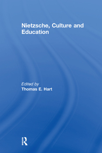 Nietzsche, Culture and Education book cover