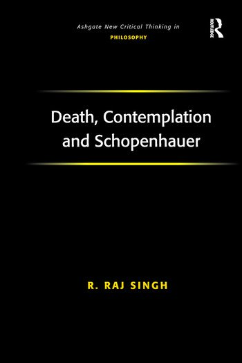 Death, Contemplation and Schopenhauer book cover
