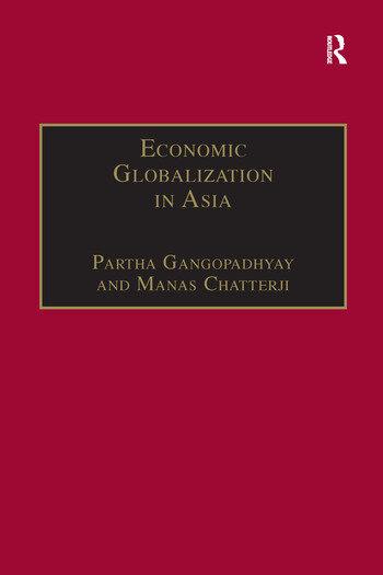Economic Globalization in Asia book cover