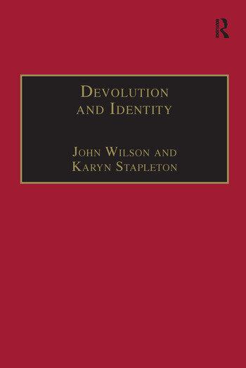 Devolution and Identity book cover