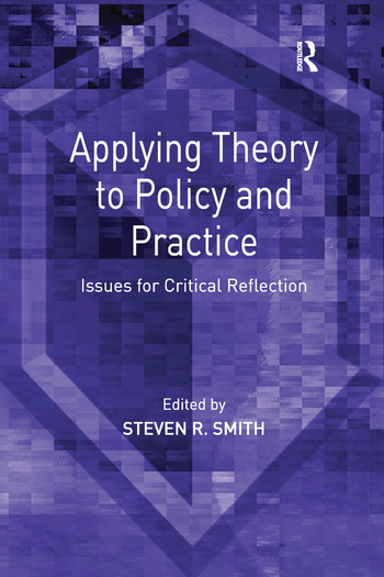 Applying Theory to Policy and Practice Issues for Critical Reflection book cover