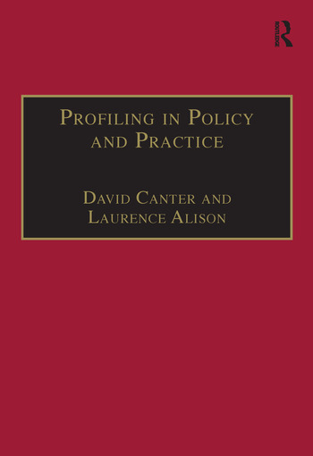Profiling in Policy and Practice book cover