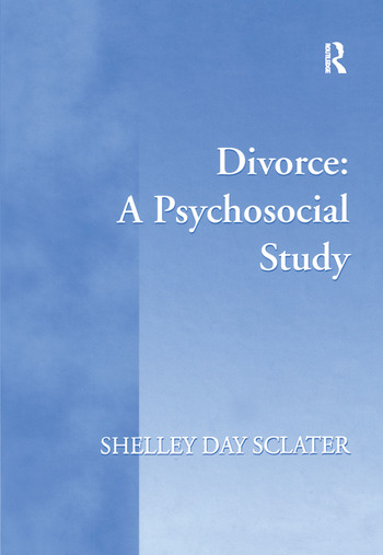 Divorce: A Psychosocial Study book cover