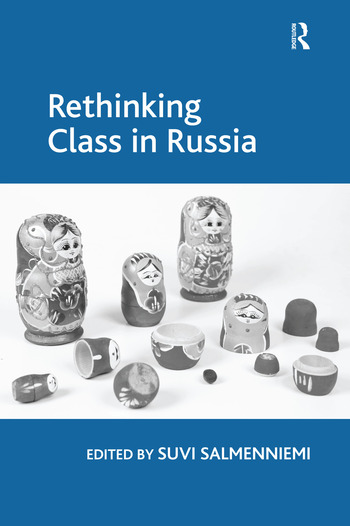 Rethinking Class in Russia book cover
