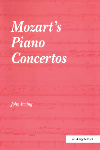 Mozart's Piano Concertos book cover