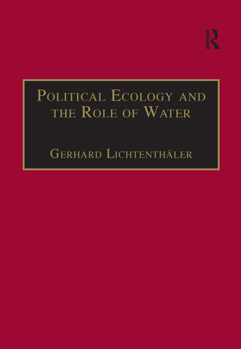 Political Ecology and the Role of Water Environment, Society and Economy in Northern Yemen book cover