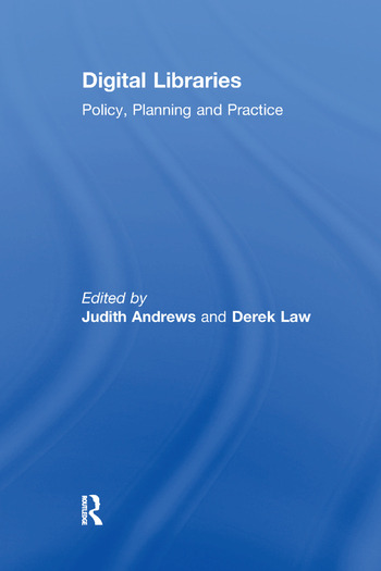 Digital Libraries Policy, Planning and Practice book cover