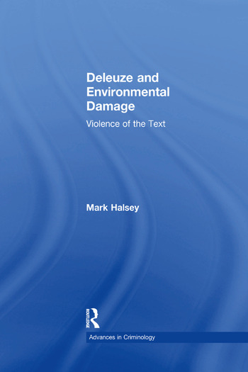 Deleuze and Environmental Damage Violence of the Text book cover