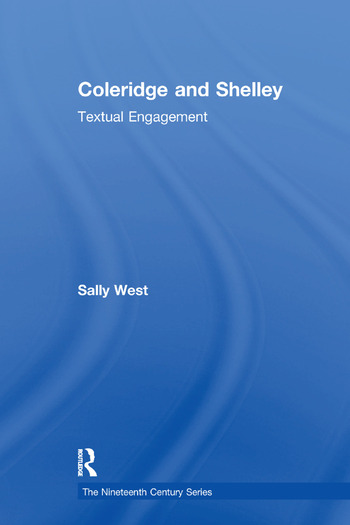 Coleridge and Shelley Textual Engagement book cover
