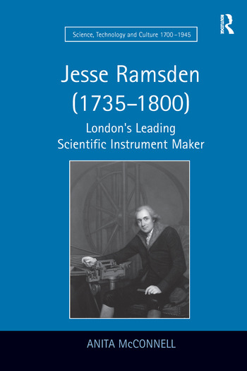 Jesse Ramsden (1735–1800) London's Leading Scientific Instrument Maker book cover
