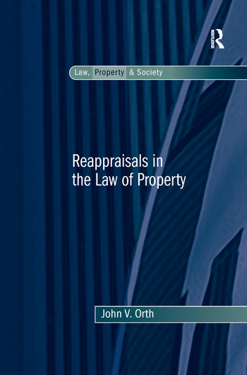 Reappraisals in the Law of Property book cover