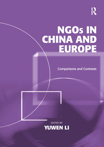 NGOs in China and Europe Comparisons and Contrasts book cover