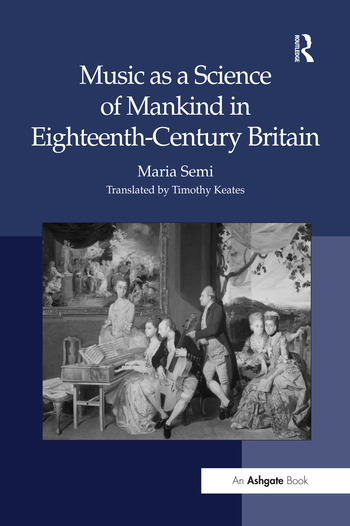 Music as a Science of Mankind in Eighteenth-Century Britain book cover