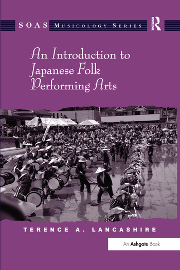 An Introduction to Japanese Folk Performing Arts book cover