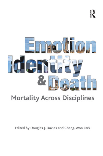 Emotion, Identity and Death Mortality Across Disciplines book cover