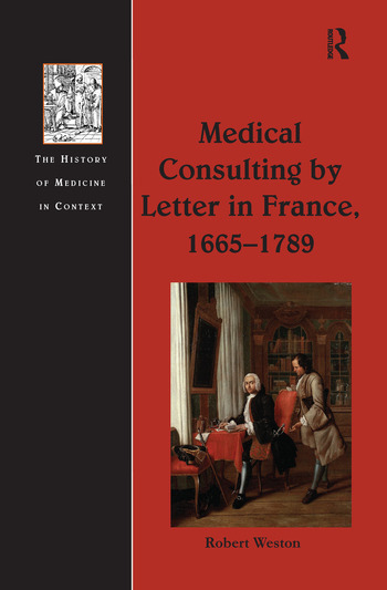 Medical Consulting by Letter in France, 1665–1789 book cover