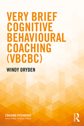 Very Brief Cognitive Behavioural Coaching (VBCBC) book cover