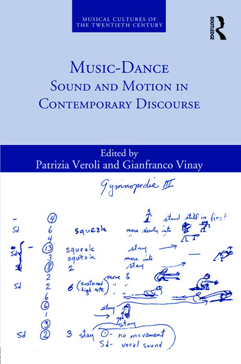 Music-Dance Sound and Motion in Contemporary Discourse book cover