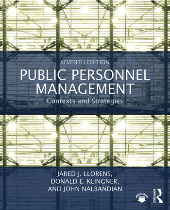 Public Personnel Management Contexts and Strategies book cover
