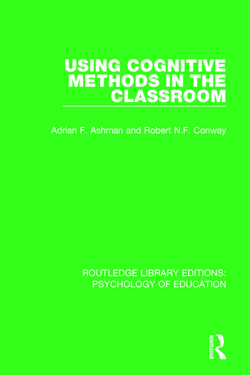 Using Cognitive Methods in the Classroom book cover