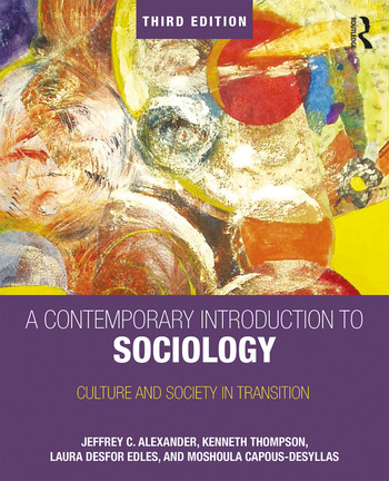 A Contemporary Introduction to Sociology Culture and Society in Transition book cover