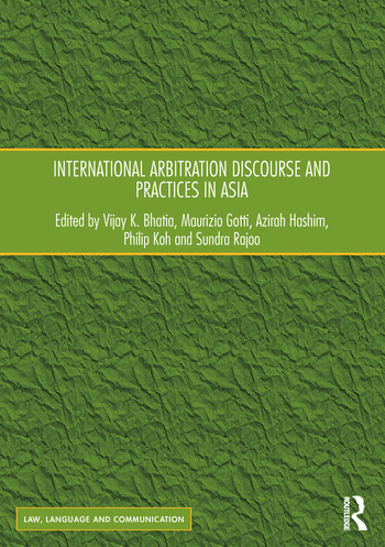International Arbitration Discourse and Practices in Asia book cover