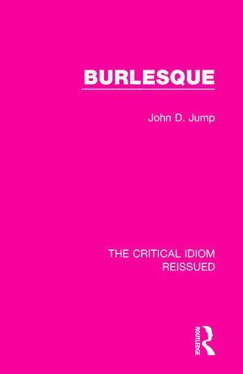 Burlesque book cover