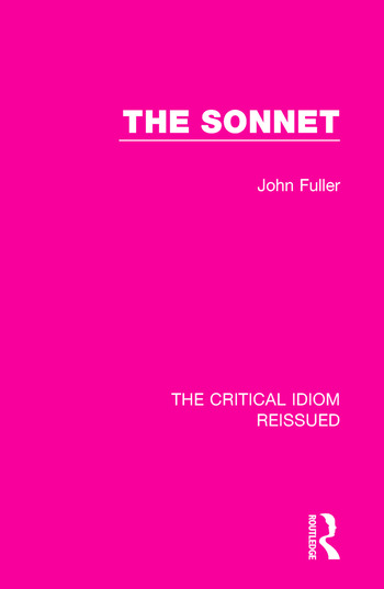 The Sonnet book cover