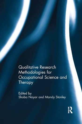 Qualitative Research Methodologies for Occupational Science and Therapy book cover