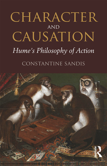Character and Causation Hume's Philosophy of Action book cover