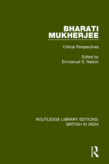 Bharati Mukherjee Critical Perspectives book cover