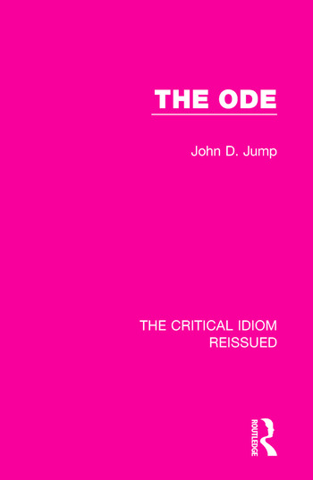 The Ode book cover