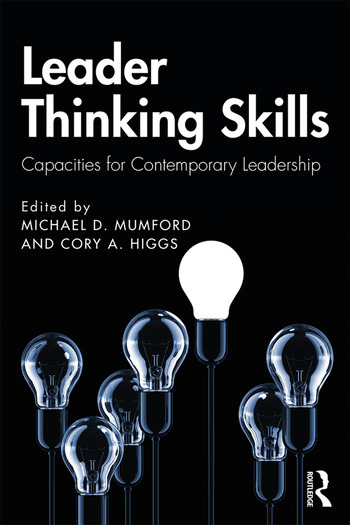 Leader Thinking Skills Capacities for Contemporary Leadership book cover