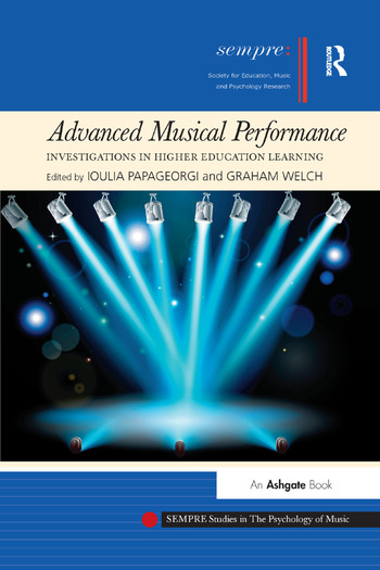 Advanced Musical Performance: Investigations in Higher Education Learning book cover
