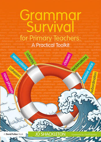 Grammar Survival for Primary Teachers A Practical Toolkit book cover