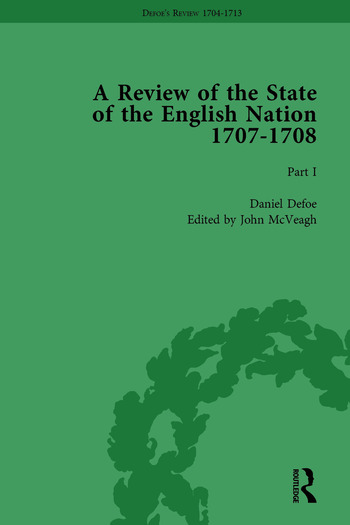 Defoe's Review 1704-13, Volume 4 (1707), Part I book cover