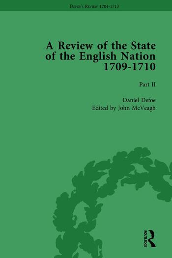 Defoe's Review 1704-13, Volume 6 (1709-10), Part II book cover