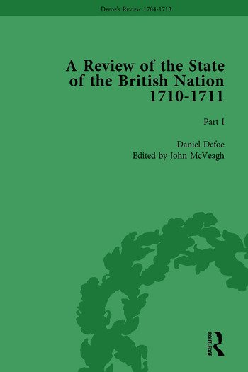 Defoe's Review 1704–13, Volume 7 (1710), Part I book cover