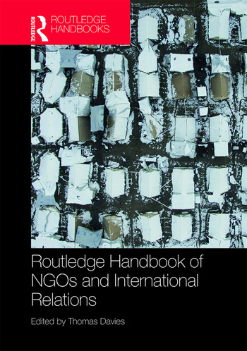 Routledge Handbook of NGOs and International Relations book cover