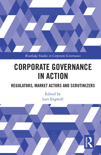 Corporate Governance in Action Regulators, Market Actors and Scrutinizers book cover